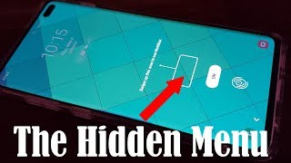 Samsung Galaxy S10 - The Hidden Notifications Menu (above the Fingerprint Sensor)