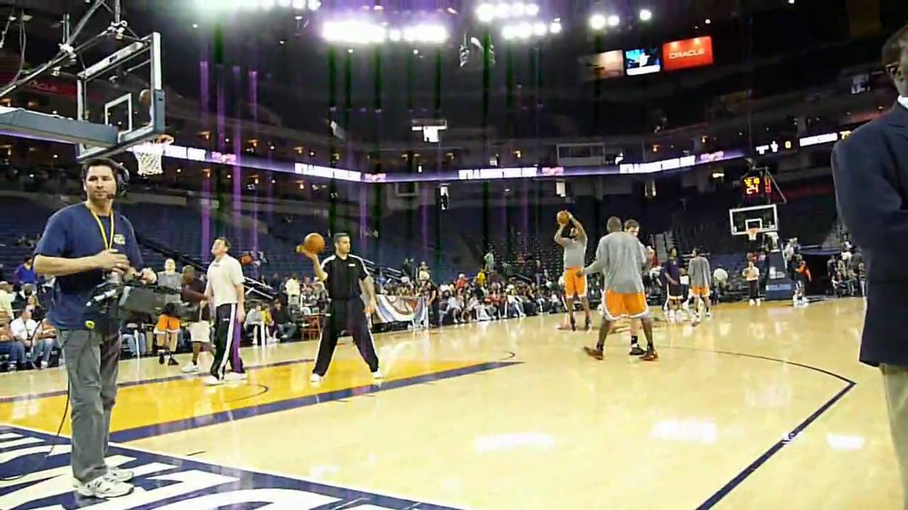 Watching The Return Of Jason Richardson To Oracle Arena In HD   Floor Seat    3 15 09   Warriors/Suns