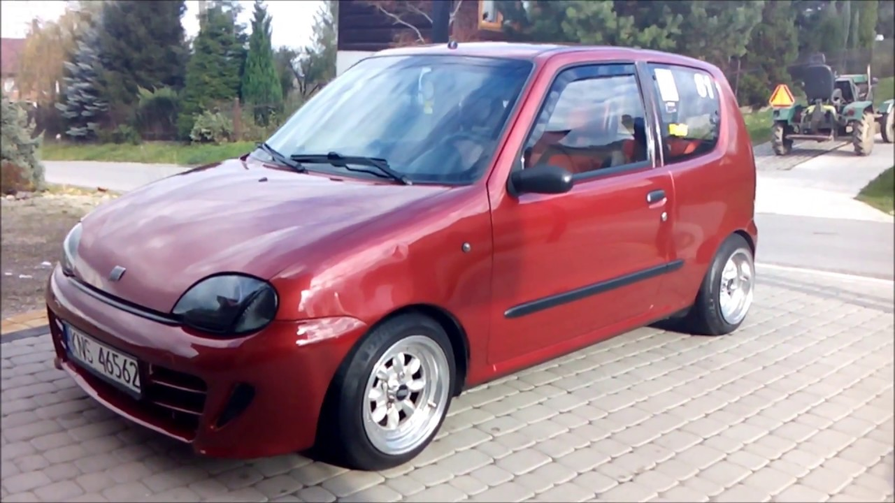 fiat seicento sporting german style oem tuning youtube. Black Bedroom Furniture Sets. Home Design Ideas