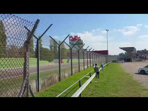Imola Suisse Cup Porsche pre Race qualifying