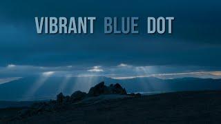 Vibrant Blue Dot