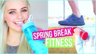 Get in Shape for Spring Break! Healthy Food & Fitness Ideas! | Aspyn Ovard
