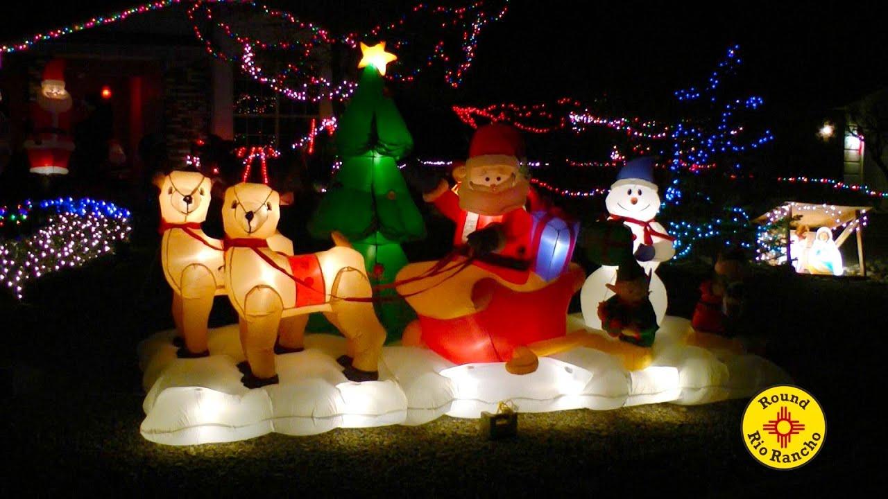 Christmas Lights Rio Rancho NM in HD
