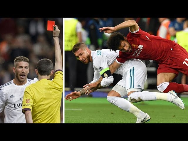 Sergio Ramos, the infamous defender who's turned fouling into an art form - Oh My Goal