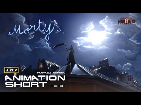"CGI 3D Animated Short Film ""MORTYS"" Funny Animation by ESMA"