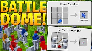 CLAY SOLDIERS MINECRAFT MODDED BATTLEDOME - MINECRAFT MOD CHALLENGE