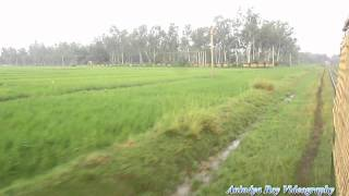 Indian Railway Narrow Gauge (Ahmadpur-Katwa) Delights#2 : Approaching Chowhatta,Go Green!!