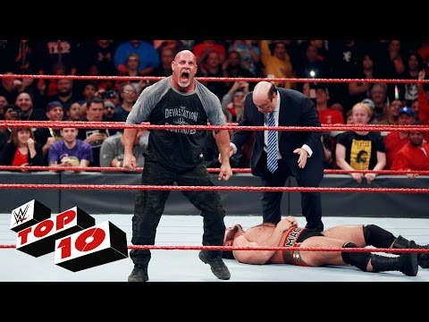 Thumbnail: Top 10 Raw moments: WWE Top 10, Oct. 31, 2016