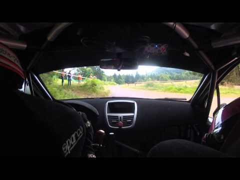 Rallye Ruppéen 2015 Steve Mourey - Pauline Choffel, Peugeot 207 S2000