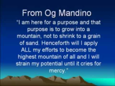 Og Mandino Quotes Amazing Og Mandino Og Mandino Quotes FREE Lessons From Og Mandino YouTube