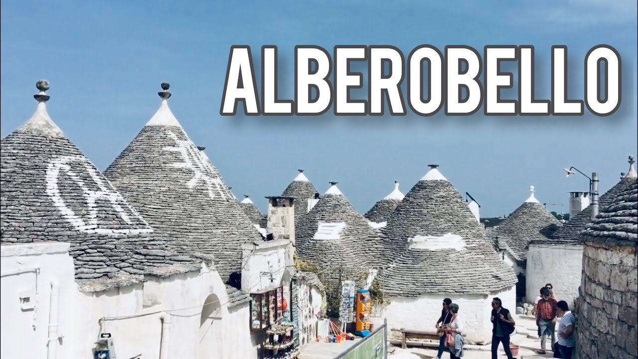 Alberobello, Puglia, İTALYA 🇮🇹
