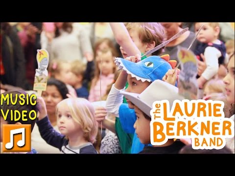 """""""We Are The Dinosaurs (Dance Remix)"""" By Laurie Berkner TODDLER Flash Mob At Barnes & Noble TriBeCa"""