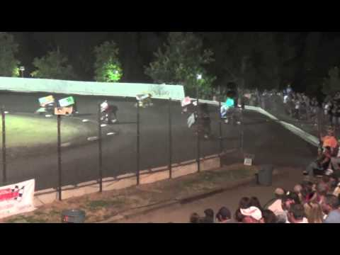 Kyle Larson Cycleland Speedway Open Main Event - June 20, 2015