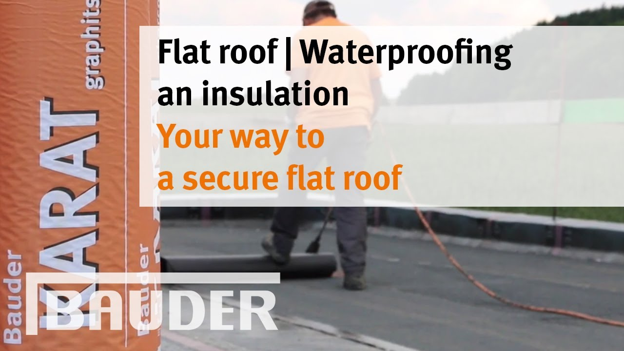 Your Way To A Secure Flat Roof Youtube