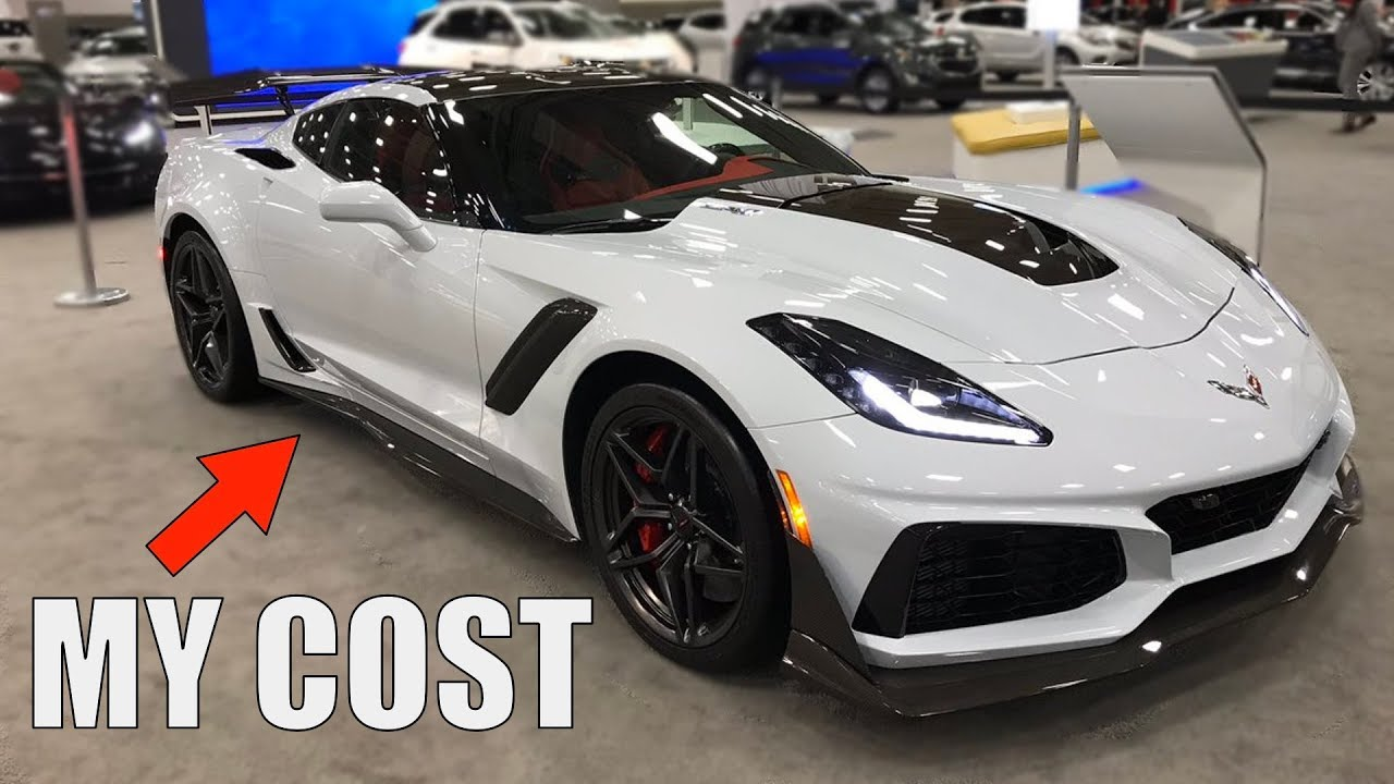 HOW MUCH MY 2019 CORVETTE ZR1 COST - YouTube