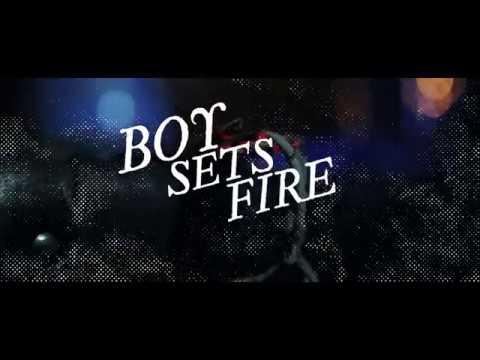 BOYSETSFIRE - Documentary 20th Anniversary Tour  (Full Version)