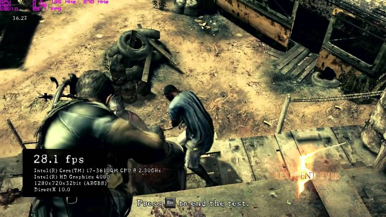 New games lovers: download free resident evil 5 benchmark pc game.