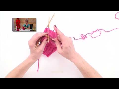 Learn to Knit Socks part 5 - Toe Shaping