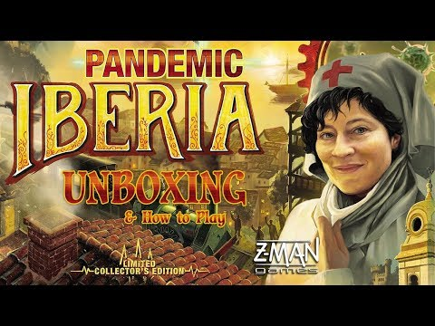 Unboxing: Pandemic Iberia (PT-BR)