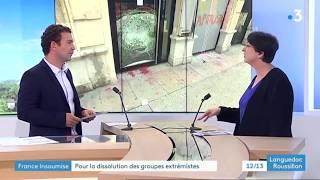 JT 12/13 FRANCE 3 - DISSOLUTION DES GROUPES IDENTITAIRES