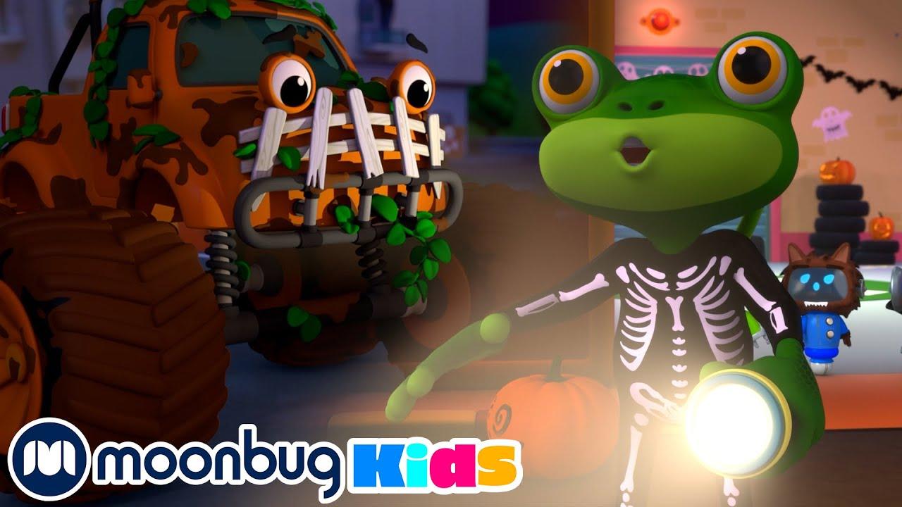No Monsters! - Gecko's Garage | Kids Cartoons & Nursery Rhymes | Moonbug Kids