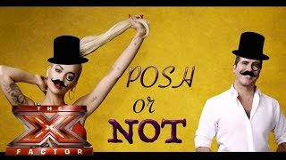 Posh or not: Simon and Rita take the challenge? | The Xtra Factor UK 2015