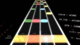 Roblox rhythm track: Night of Nights Expert 100%