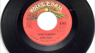 Born To Wander , Rare Earth , 1970 Vinyl 45RPM