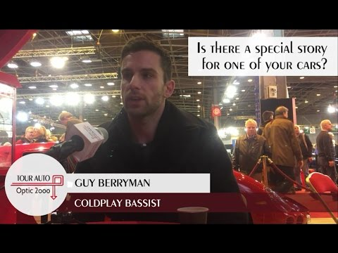 Guy Berryman (Coldplay) at the Tour Auto 4/10 Is there a special story for one of your cars?