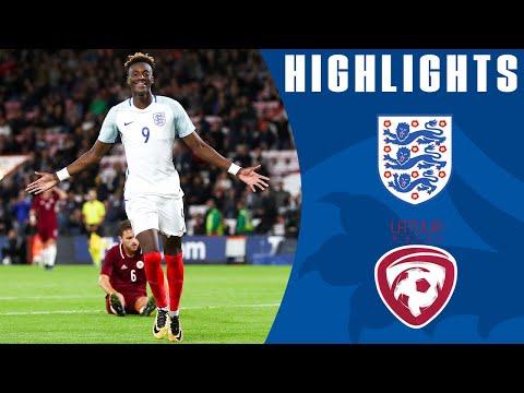 England U21 3-0 Latvia U21 (2019 Euro Qualifier) | Official Highlights