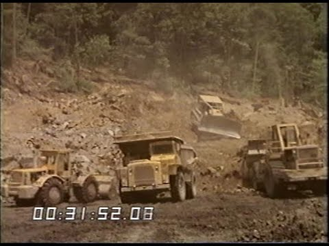 American Coal Mining |  Strip Mines | Fossil Fuels | Appalachian Mountains | 1974
