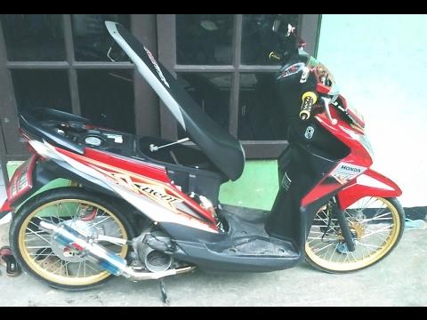 Modifikasi Motor Matic Beat Simple Otomotif Modifikasi Indonesia