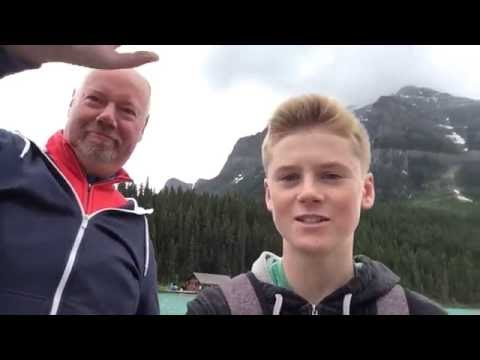 Banff, Canada with my German Cousins | July 5, 2016 | VLOG #013