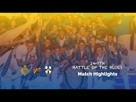 Highlights – Royal College vs S.Thomas' College | 140th Battle of the Blues