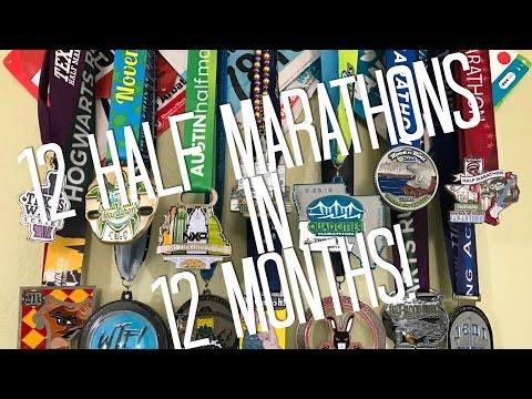12 months, 12 half marathons!