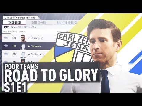 POOR TEAMS ROAD TO GLORY | FIFA 18 CAREER MODE | TRANSFER BUSY