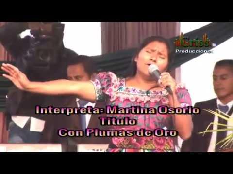 Martina Osorio | Con plumas de Oro | en vivo 2015