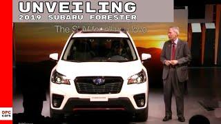 2019 Subaru Forester Unveiling