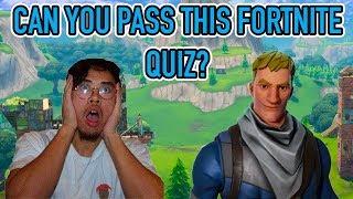 *New* Fortnite Season 6 Quiz! (99% FAIL)