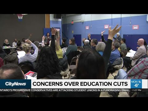 Concerns raised about education cuts