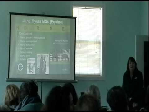 Sustainable Horsekeeping with Jane Myers: 4-14-12, Part 3.dv