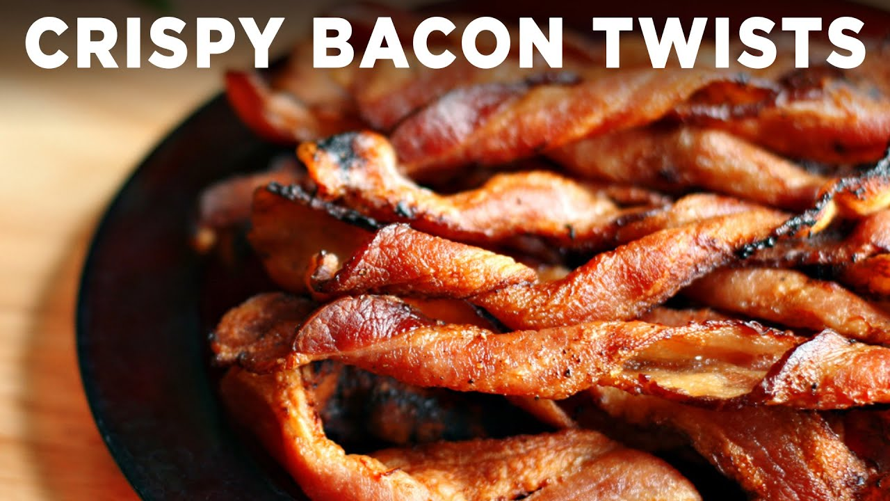 Chewy, Crispy Bacon Twists