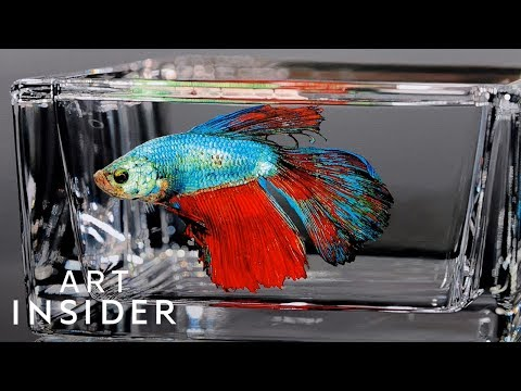 Making Hyperrealistic Animal Paintings Glazed In Resin | Master Craft