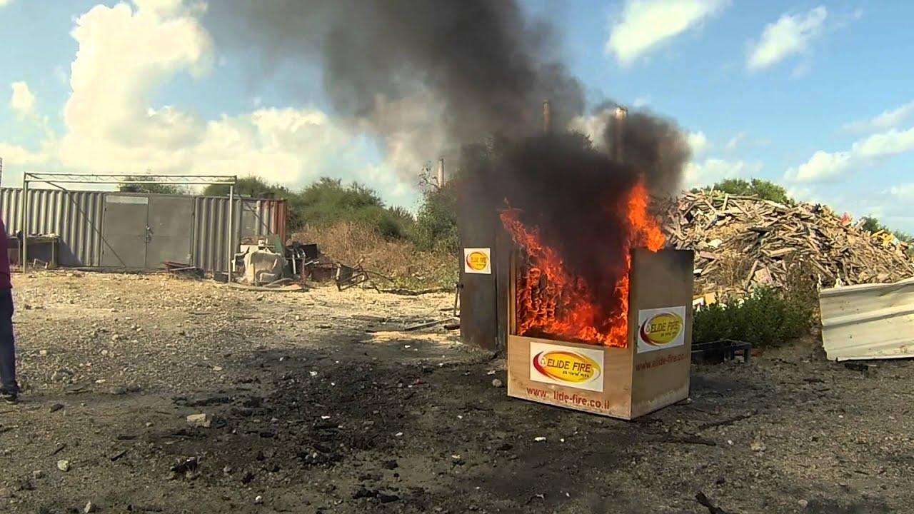 【新しい発明】爆発するたびに消化する画期的な消火剤が発明される!