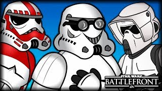 Stormtrooper Personalities | Star Wars Battlefront Animated