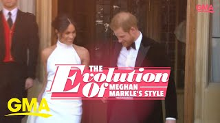 The evolution of Meghan Markle's style l GMA Digital