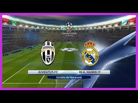 [PES2017] Juventus Vs Real Madrid. UEFA Champions League. Full Time. Gameplay PC