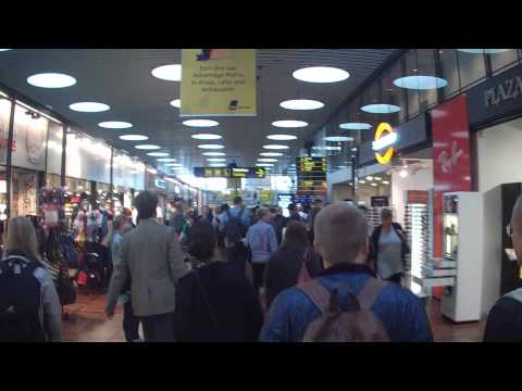 Walking through the Copenhagen, Denmark Airport (CPH)