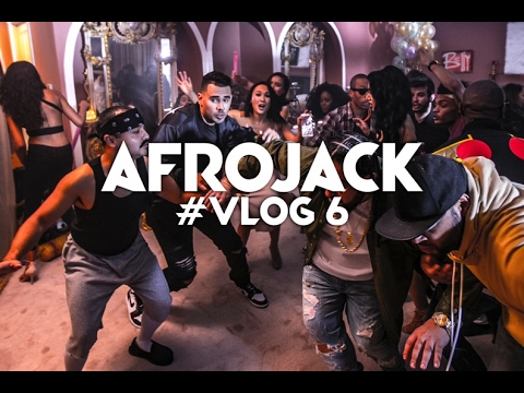 AFROJACK BEHIND THE SCENES VIDEO SHOOT | AFROVLOG #6