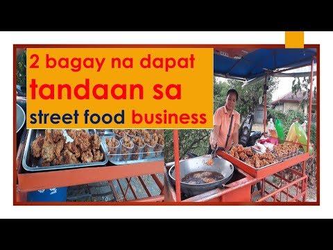 2 bagay na dapat tandaan sa street food business